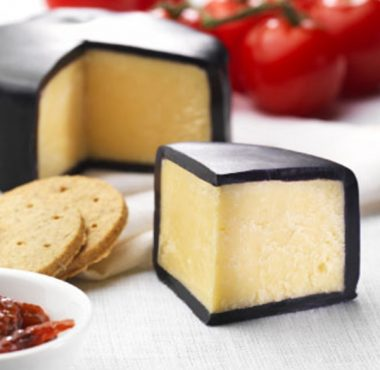 Cheese with Black Cheese Wax