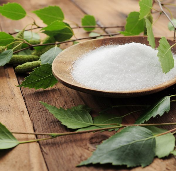 Xylitol in a bowl